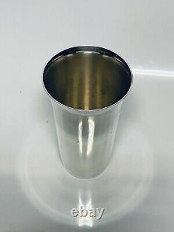 12oz 5 1/4 Sterling Silver Julep Cup #77 By Fisher