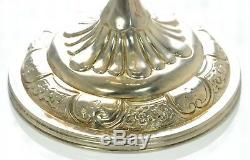 1861 Antique Victorian English Silver Large Goblet Cup 7-1/4 High