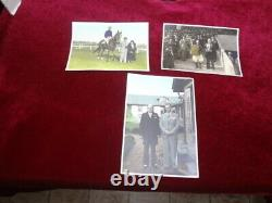 1936 Large Japanese Sterling Silver Emperors Cup Horse Racing Trophy. Photo's