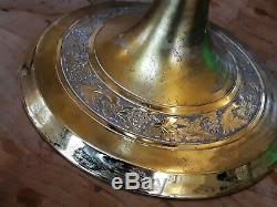 1950s Cup And Paten Sterling Silver Chalice Gold Plated