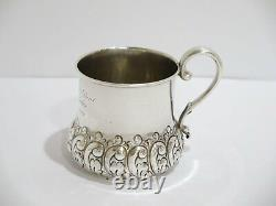 3 3/8 in Sterling Silver Shreve Crump & Low Boston Antique c. 1889 Baby Cup