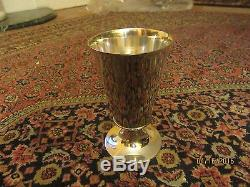 6 + H Vintage Sterling Silver Tiffany & CO Julep Cup Drinking Cup Goblet