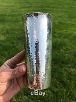 950 Sterling Silver Cup Tumbler Hammered Silver Reflective Julep Mule Mug Classy