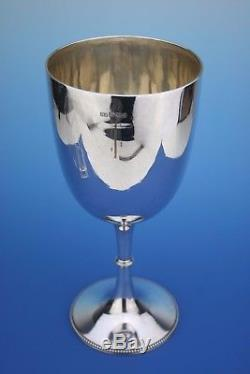ANTIQUE STERLING SILVER GOBLET CUP PRESENTATION CUP SHEFFIELD 1896 282g