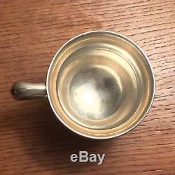 ANTIQUE TIFFANY STERLING SILVER CUP Early Pattern No. 17139 = 18 171 Gr