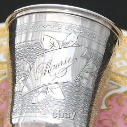 Antique French. 800 (nearly sterling) Silver Wine or Mint Julep Cup, Tumbler