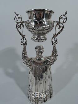 Antique Goblet Wedding Wager Ceremonial King Cup German Sterling Silver