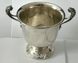 Antique Loving Cup / Trophy Alex Clark Early 1900's London Sterling Silver Mono