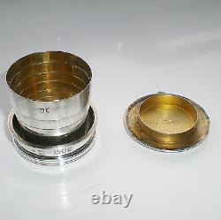 Antique Sampson Mordan Sterling Silver Collapsible Beaker Cup c1899