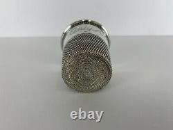Antique Sterling Silver Shot Cup Jigger Only A Thimble Full Same As Cartier