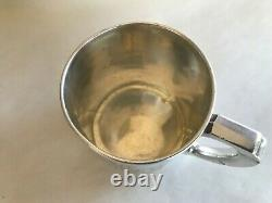 Antique Webster Sterling Silver The Story Of Peter Pan Cup Mug Child Engraved