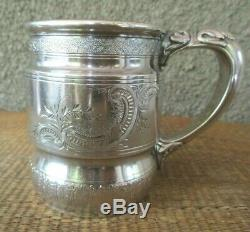 Antique Whiting sterling silver baby cup