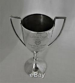 Antique sterling silver The Exide Cup Motorcycle trophy Singapore c 1939