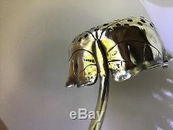 Art NOUVEAU Shiebler Sterling Silver Aesthetic Over Cup Tea Strainer Lily Pad
