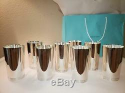 Authentic 1930s Tiffany & Co 925 Heavy Sterling Silver 22394 Mint Julep Cups