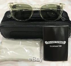 Authentic Chrome Hearts Louvin Cup Collection Sun Glasses Sterling Silver Decors