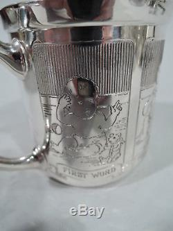 Blackinton Mug 5644 Antique Christening Baby Cup American Sterling Silver