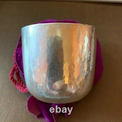 Cartier Sterling Silver Julep Cup Newbury Crafters circa 1970 Hand Hammered