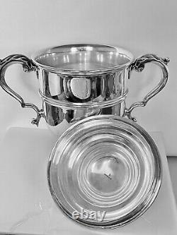 Cartier huge Sterling Silver covered Cup Trophy