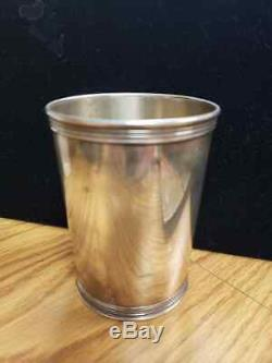 Classic Benjamin Trees Sterling Mint Julep Cup