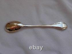 FRENCH ART DECO STERLING SILVER EGG CUP WITH SPOON, EARLY 20th CENTURY