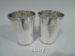 Fisher Mint Juleps 50 Pair Julep Cups Barware American Sterling Silver