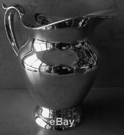GORHAM 628g STERLING SILVER 182 4.25 PINT PITCHER & TROPHY THE DALTON CUP 1965