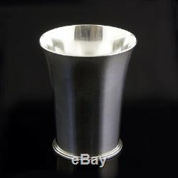 Georg Jensen Silver Goblet/ Cup/ Vase Pyramid/ Pyramide #671D Dotted Oval