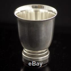 Georg Jensen Small Sterling Silver Cup Pyramid/ Pyramide #660 A VINTAGE