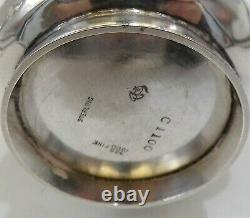 Gorgeous 1899 Arts & Crafts Style Simpson Hall Miller & Co Sterling Silver Cup