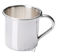 Gorham Sterling Silver Plain Baby Cup, New in Box, Made in USA