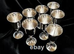 Gorham Sterling Silver Water Goblet Cup #1693 No Monogram, Multiple Available