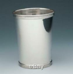 International Silver Co. Julep Cup with Rolled Edge, Sterling Silver, #10125-1