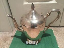 International Silver Company Sterling Silver 9 Cup Teapot C332 No Monogram