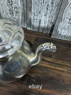 International Sterling Prelude 10 Cup Teapot