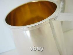 Italian 925 Sterling Silver & Gold Plated Handcrafted Hammered Wash Cup 00840-1