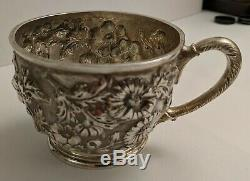 JACOBI & JENKINS BALTIMORE Repousse Sterling Silver Cup Style 51