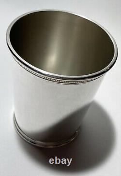 John F. Kennedy Rare Presidential Sterling Mint Julep Cup Scearce NO MONO
