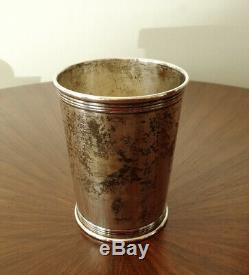 LUNT Sterling Silver MINT JULEP Cup #3759 147.2g NO MONO EX