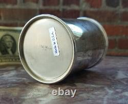 LUNT Sterling Silver MINT JULEP Cup #3759 148.8g NO MONO EX