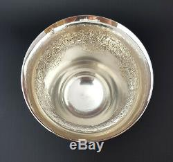 Large French Antique Sterling Silver Wine Cup Beaker Timbale 145 grams