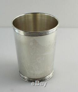 Manchester 3759 Sterling Silver Mint Julep Cup 3 3/4 withMonogram