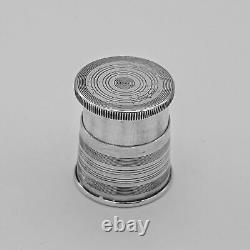 NAPIER STERLING SILVER COLLAPSIBLE JIGGER CUP LID 2-1/8 tall 45.5 gr