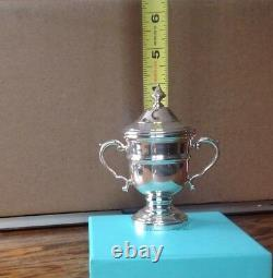 New Tiffany co loving trophy cup 4 genuine never used
