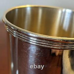 Newport Sterling 1673 Silver Mint Julep Cups Set of 2 112g ea. Very Good