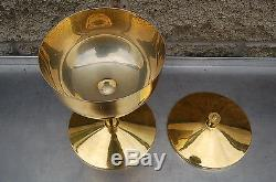 + Nice Large Ciborium + Cup Sterling Silver + + (#881) + chalice co