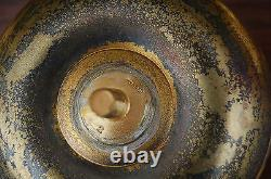 + Nice Older Gothic Ciborium, Cup Sterling Silver + (#867) + chalice co