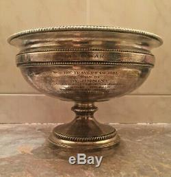 ORIGINAL 1944 Man of War Cup Trophy Tiffany & Co Makers Sterling Silver