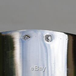 PUIFORCAT TIMBALE EN ARGENT MASSIF ART DECO Sterling Silver Water / Wine Cup