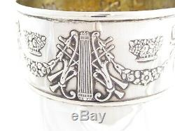 QUALITY ANTIQUE EDWARDIAN SOLID STERLING SILVER GOBLET CUP 1907 178 g